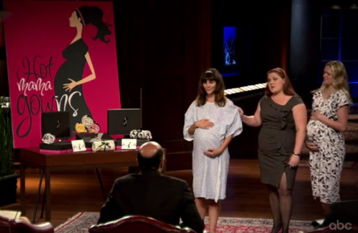 Shark Tank Q&A with Deidrea Haysel from Hot Mama Gowns - In The ...