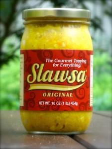 Slawsa, gourmet topping