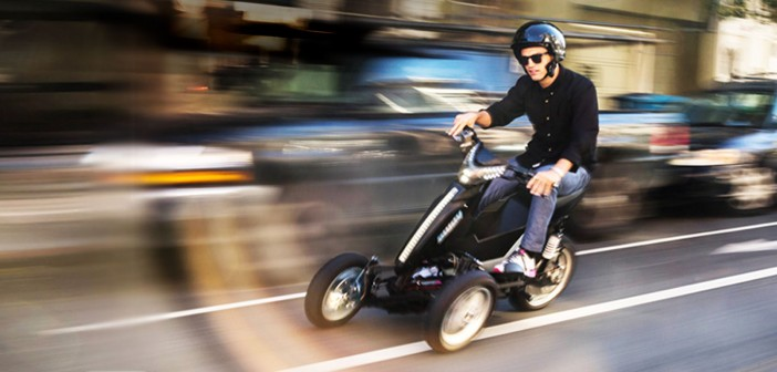 Sway Motorsports Electric Tilting Trike